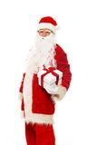 Santa Claus with gift boxes Royalty Free Stock Photo