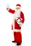 Santa Claus with gift boxes Royalty Free Stock Image
