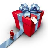Santa Claus Gift Stock Image