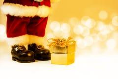 Santa Claus gift Stock Photos