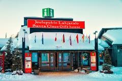 Santa Claus Gift House Lapland Scandinavia photos stock