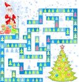 Santa Claus and gifts Royalty Free Stock Image
