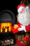 Santa Claus with a gifts Royalty Free Stock Photos