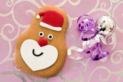 Santa Claus Gingerbread Royalty Free Stock Photos