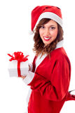 Santa Claus Girl Royalty Free Stock Image