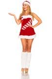 Santa Claus girl Royalty Free Stock Images