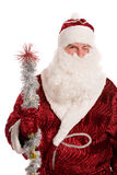 Santa Claus gives a wink Royalty Free Stock Images