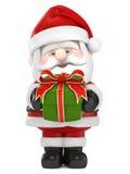Santa Claus giving gif royalty free illustration