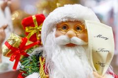 Santa Claus with Glasses Stock Image
