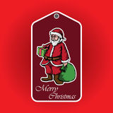 Santa claus. For graphic design content Stock Photography