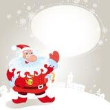 Santa Claus Greeting Card Stock Photo