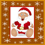 Santa claus greeting card - 3 Royalty Free Stock Photos