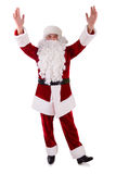 Santa Claus hands up Stock Photos