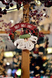 Santa Claus hanging decoration. Beautiful Santa Claus hanging decoration Stock Photos