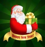 Santa Claus Happy New Year Stock Photography