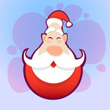 Santa Claus Happy New Year Holiday glad jul Arkivfoton