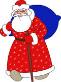 Santa Claus, Happy New Year. For your design vector illustration