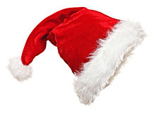 Santa claus hat royalty free stock images