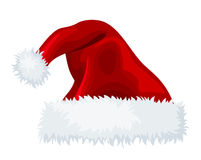 Santa Claus hat. Royalty Free Stock Image