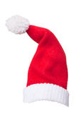 Santa Claus hat for Chirstmas. Isolated Santa Claus for Chirstmas decoration on white background Royalty Free Stock Images