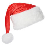 Santa Claus hat. Isolated on white background Stock Photo