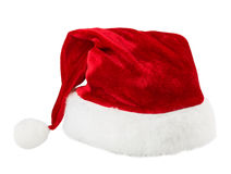 Santa claus hat. Isolated on white background Royalty Free Stock Photos