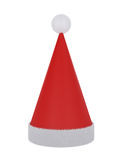 Santa Claus Hat isolated on white Stock Photos