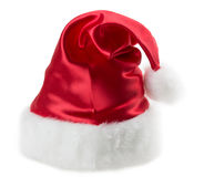Santa claus hat set isolated on white background.  Royalty Free Stock Photography