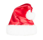 Santa claus hat set isolated on white background Stock Images