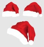 Santa claus hat vector Stock Photo