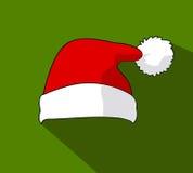 Santa Claus hat, vector Royalty Free Stock Image