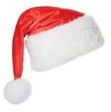 Santa Claus hatt Arkivfoto