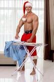 Santa Claus-Haus Lizenzfreie Stockfotografie