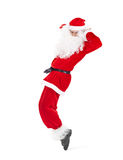 Santa Claus having fun Stock Photos