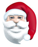 Santa Claus head Royalty Free Stock Photo