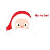 Santa Claus Head Immagine Stock