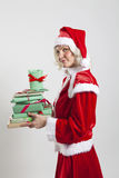 Santa Claus helper elf Royalty Free Stock Photography