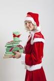 Santa Claus helper elf Royalty Free Stock Photography