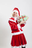 Santa Claus helper elf Royalty Free Stock Photo