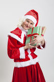 Santa Claus helper elf Stock Images