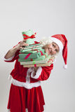 Santa Claus helper elf Royalty Free Stock Photos