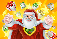 Santa Claus Hero Stock Photo