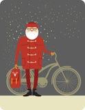 Santa Claus hipster Stock Photo