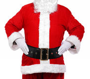 Santa Claus with his hands on his hips Stock Photos