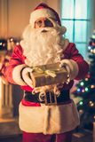 Santa Claus in his residence Royalty Free Stock Images