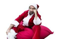 Santa Claus with his sack Royalty Free Stock Photos