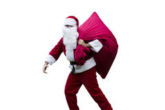 Santa Claus with his sack Stock Photography