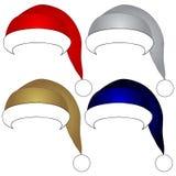 Santa Claus-hoed Stock Fotografie