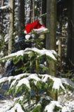 Santa Claus-hoed Royalty-vrije Stock Foto