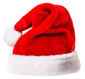 Santa Claus-hoed Stock Afbeeldingen